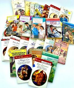 Lot of 15 ROMANCE Paperback Books Popular Authors Love MIX-UNSORTED Harlequin