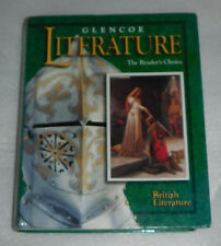 Glencoe Literature Readers Choice British Literature English 2000 HC Textbook