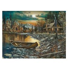 5D Diamond Embroidery Nature Boat Painting Cross Stitch Craft DIY Home Decor Kit