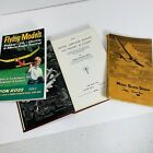 3 Vintage Flying Model Airplane Gliders Design Theory of Flight Books