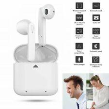 White Twins Wireless Bluetooth TWS Stereo Ear Pods Earbuds Earphones Headphones