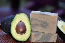 Avocado With Bentonite Clay & Homemade Rice Milk Soap