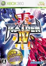 Used Xbox 360 Raiden IV MICROSOFT JAPAN JP JAPANESE JAPONAIS IMPORT