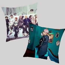 Kpop BTS Wings Taies d'oreiller Oreiller Throw Pillow Case Bangtan Boys Bolster