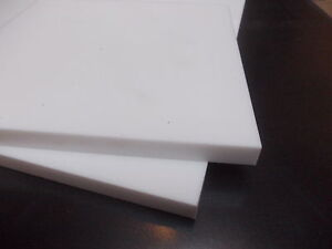 """11.81/"""" 1.5mm PTFE sheet 300 mm 3.93/"""" high temperature-low friction x 100 mm"""