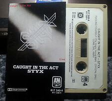 STYX TAPE CAUGHT IN THE ACT LIVE FREE POST IN AUSTRALIA