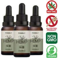 3000mg 10ml Hemp Oil Extract for Pain Relief, Stress, Sleep PURE&ORGANIC _RR