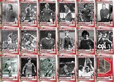 Liverpool 1973 tarjetas comerciales FÚTBOL Copa UEFA ganadores