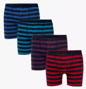 Pack of 3 Billy Boxer Shorts Mens Cotton Brief Fitted Trunks Quick-Dry Underwear