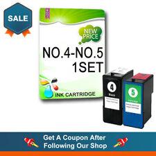 2 Ink Cartridge for X2690 X3690 X4690 X6690 Z2390 Z2490 Replac Lexmark NO.4 NO.5