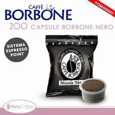 200 Capsule Caffè Borbone NERA Compatibili lavazza Espresso Point*+omaggio