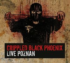 CRIPPLED BLACK PHOENIX - LIVE POZNAN 2 CD  13 TRACKS PROGRESSIVE ROCK  NEU