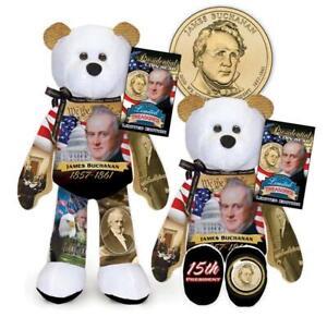 James Buchanan Coin bear  #15 in current series of 36