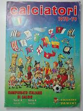 Album figurine 1979 PANINI Calciatori 1978-79 non completo Originale Vintage