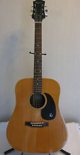 Vintage Epiphone Dreadnought FT 145 Texan Acoustic Guitar & Case Made In Japan