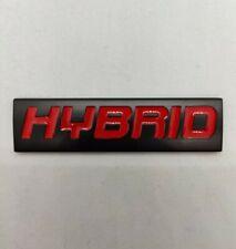 Rouge Noir Métal Hybrid Badge Emblème Pour Seat Leon Cupra Ateca Arona Tarraco