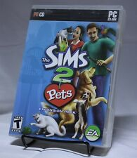 Sims 2 Pets Expansion Pack PC Game EA Games CD-ROM