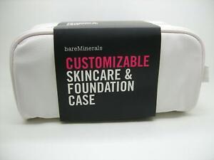 BAREMINERALS NEW CUSTOMIZABLE SKINCARE & FOUNDATION CASE MAKEUP BAG ORGANIZER