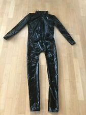 Catsuit Ganzanzug  Overall in Lack/Latex Look Gr. M Neu