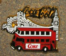 C3 GREAT BRITAIN COCA COLA PIN TRUCK CAMION NO:6 on 120 LONDON  LIMITED EDITION