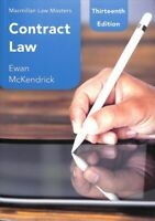 Contract Law, Paperback by McKendrick, Ewan, Like New Used, Free shipping in ...