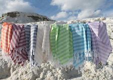 4 X TURKISH HAMMAM HAMAM PESHTAMAL PESHTEMAL COTTON BATH TOWEL GIFT BEACH