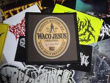 Waco Jesus Patch Death Metal Lividity