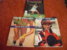 LOT 3 Vintage 1971-73  Sports Illustrated WOMEN SPORTS GREATS COVERS NICE LOT!!
