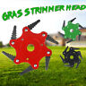 6 Steel Blades Razors Lawn Mower Grass Eater-Trimmers Head Brush Cutter