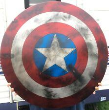 "24"" Captain America Shield (Aluminum / Handmade Shield)"