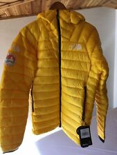NEW The North Face Men's Summit L3 Down Hoodie Canary Yellow MENS Small (S) NWT