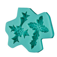 DIY 3D Cross Leaf Silicone Cake Mold Fondant Molds Decorating Baking Tools Mould