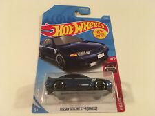 Hot Wheels Nissan Skyline GT-R R32 Blue 1:64 Diecast Model Car