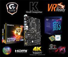 PC Bundle AufrüstKit Intel i3 8100 gen.8 (4x3,6GHz) + Gigabyte Z370P D3 +NEU/OVP