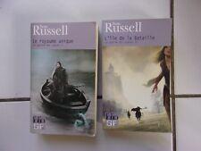 lot fantasy Sean Russell LA GUERRE DES CYGNES 1 et 2 royaume unique / ile batail