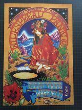 Widespread Panic San Francisco Warfield 2003 Josh Hunter 1st Ed. Bgp # 305 Free