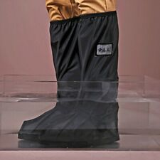 Waterproof Motorcycle Bike Rain Gear Boot Shoes Cover Gaiter Side Zipper Travel
