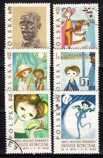 Poland - 1962 Janusz Korczak (Illustrator) - Mi. 1357-62 VFU