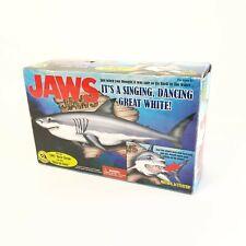 Vtg Gemmy JAWS Big Mouth Billy Bass Mack The Knife Singing Shark Motion Activate