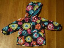 Carter's Lightweight Reversible Windbreaker Jacket Toddler Girl's 2T Floral