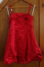 Karen Millen Red Bustle Dress 8