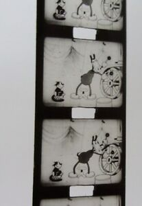 3 x 9.5mm films HORACE HORSECOLLAR, MICKEY MOUSE Disney Pathescope CARTOONS