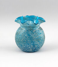 Light blue Vase Crumbling fusions beaded Edge 99835216