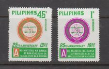 Philippine Stamps 1975 Philippine Mental Health Ass. Perf set MNH