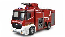 RC Feuerwehr Mercedes-Benz Feuerwehr Löschfahrzeug / Drehleiterfahrzeug 1:18 RTR