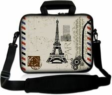 """LUXBURG 14"""" Inches Design Laptop Sleeve With Shoulder Strap & handle #BP"""