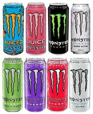 NEW MONSTER ENERGY DRINK 10 FLAVORS TO CHOOSE FROM
