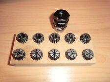 Spannzangenvorrichtung ER16 + 10 Zangen EMCO Unimat SL DB200 M12x1 collet holder