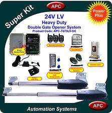 APC Heavy Duty Double Swing Gate Opener System Super Kit