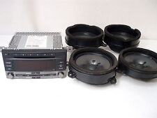 Subaru Clarion PF-2945A-B Factory Head Unit With Speakers OEM From 2010 WRX
